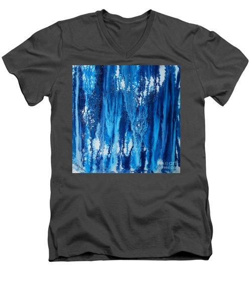 Snow Fall Men's V-Neck T-Shirt