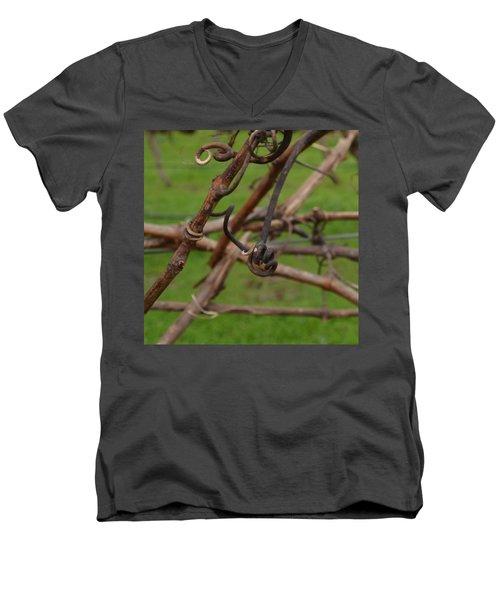 Vineart . Vat 3.6 Men's V-Neck T-Shirt by Cheryl Miller