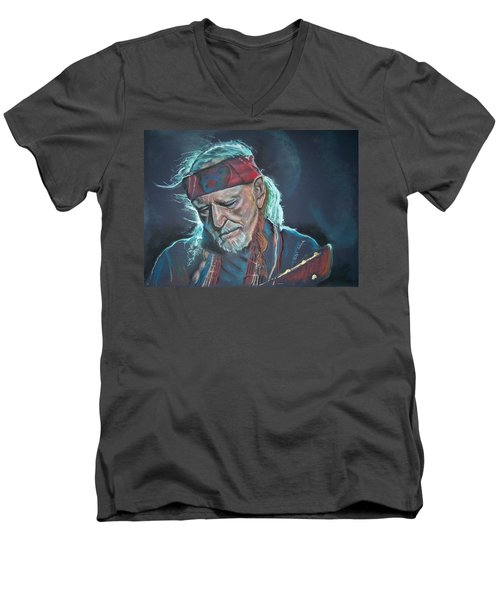 Willie Men's V-Neck T-Shirt