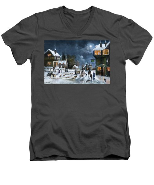 Winter Solstice Men's V-Neck T-Shirt