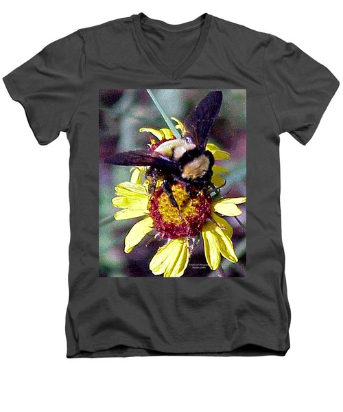Worker Bee Men's V-Neck T-Shirt