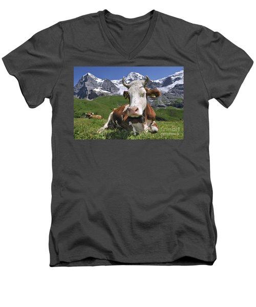 100205p182 Men's V-Neck T-Shirt