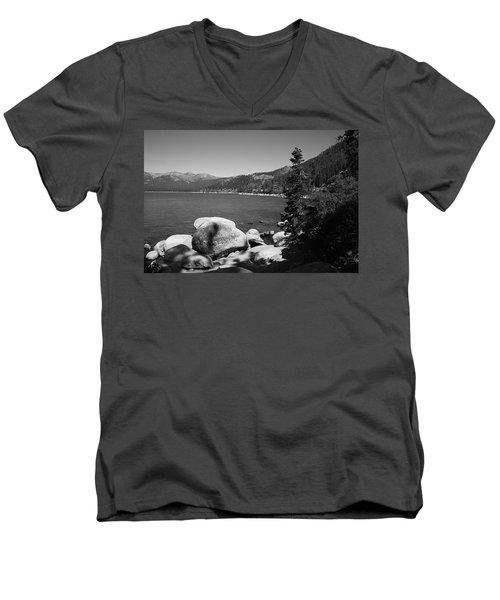 Lake Tahoe Men's V-Neck T-Shirt