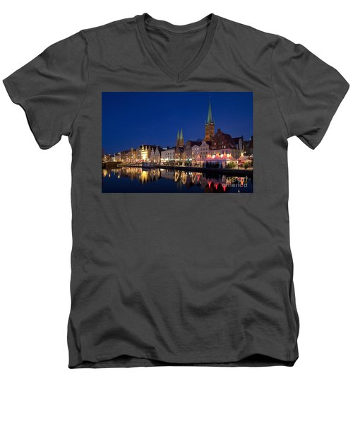 111130p072 Men's V-Neck T-Shirt