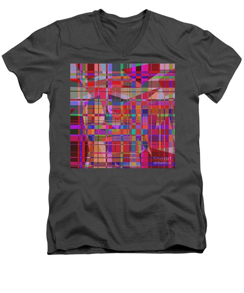 1131 Abstract Thought Men's V-Neck T-Shirt