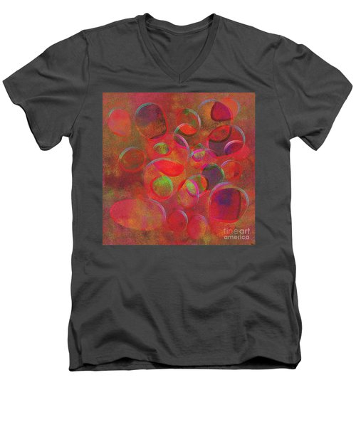1153 Abstract Thought Men's V-Neck T-Shirt