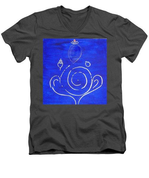 16 Ganesh Men's V-Neck T-Shirt