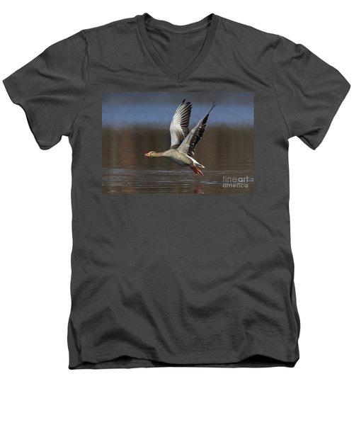 120223p134 Men's V-Neck T-Shirt