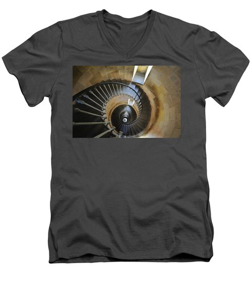 Men's V-Neck T-Shirt featuring the photograph 120920p001 by Arterra Picture Library