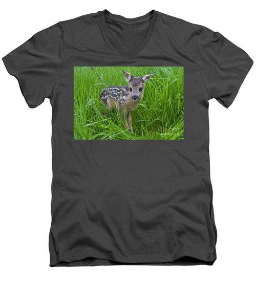 131018p162 Men's V-Neck T-Shirt