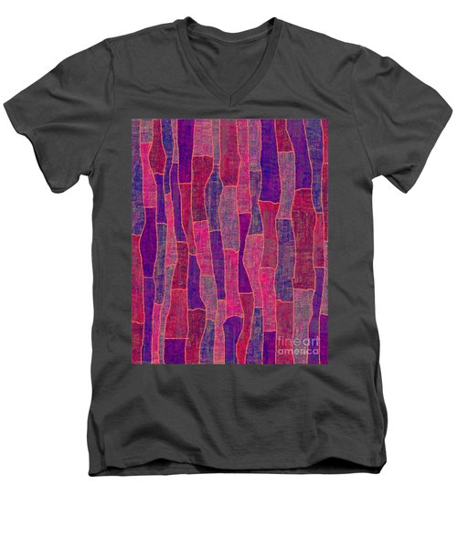 1344 Abstract Thought Men's V-Neck T-Shirt
