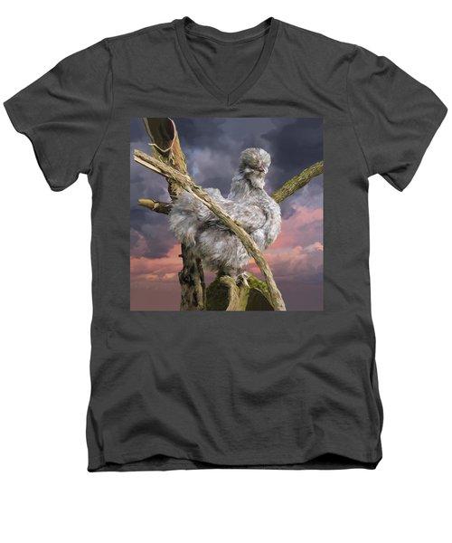14. Cuckoo Bush Men's V-Neck T-Shirt