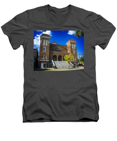 16th Street Baptist Church Men's V-Neck T-Shirt