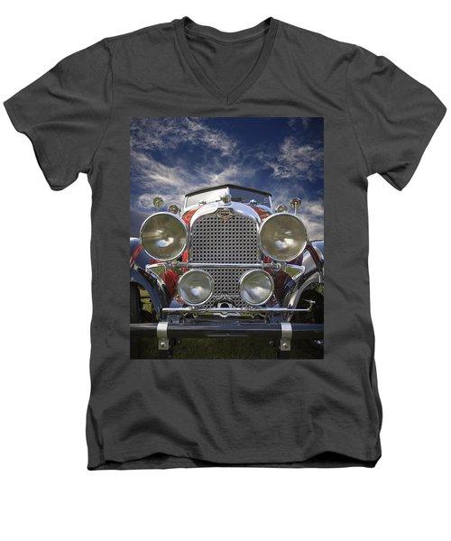 1928 Auburn Model 8-88 Speedster Men's V-Neck T-Shirt