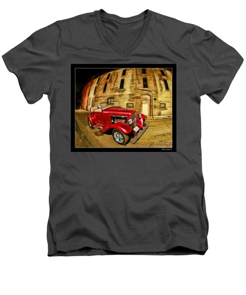 1930 Ford Model A Men's V-Neck T-Shirt