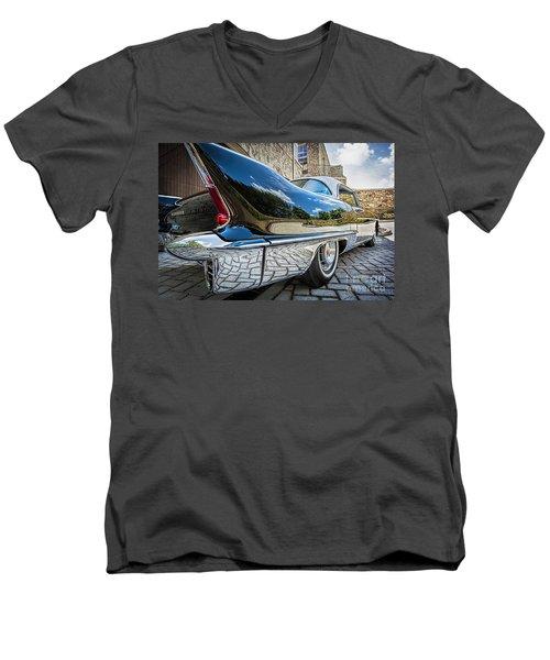 1957 Cadillac Eldorado Men's V-Neck T-Shirt