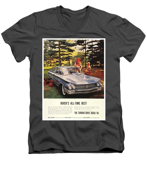 1960 - Buick Lesabre Sedan Advertisement - Color Men's V-Neck T-Shirt