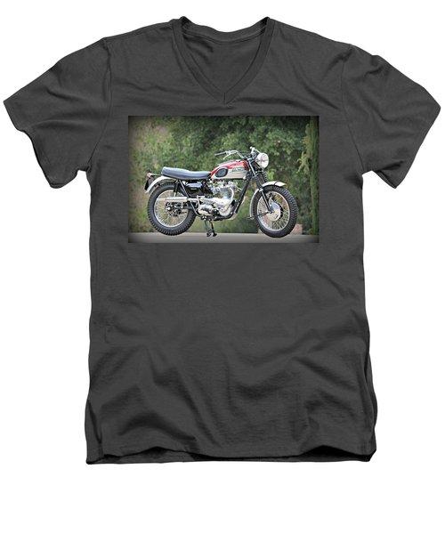 1961 Triumph Tr6c Men's V-Neck T-Shirt