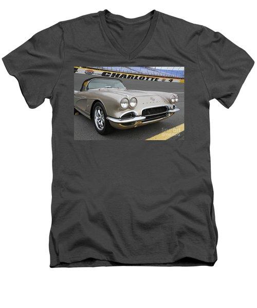 1962 Chevy Corvette Men's V-Neck T-Shirt