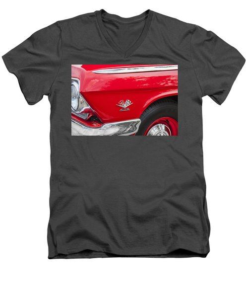 1962 Chevy Impala 409 Men's V-Neck T-Shirt