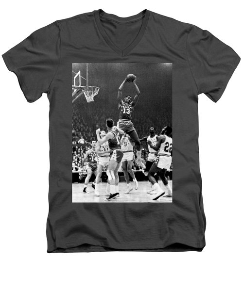 1962 Nba All-star Game Men's V-Neck T-Shirt