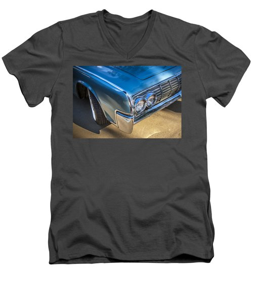 1964 Lincoln Continental Convertible  Men's V-Neck T-Shirt