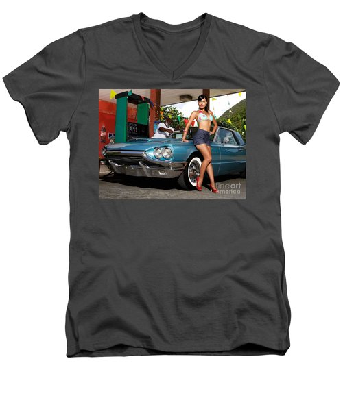 1966 Thunderbird Men's V-Neck T-Shirt