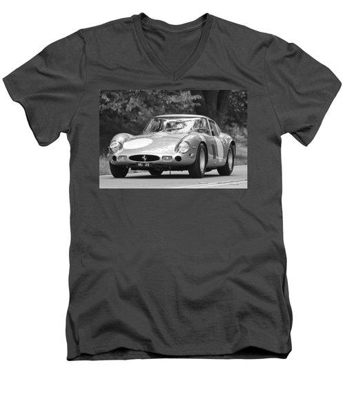 1963 Ferrari 250 Gto Scaglietti Berlinetta Men's V-Neck T-Shirt