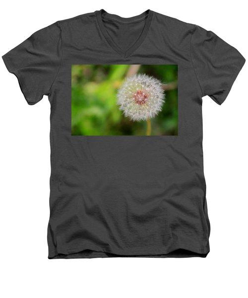 A Dandy Dandelion Men's V-Neck T-Shirt