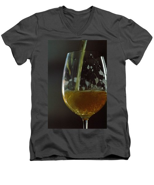 A Glass Of Beer Men's V-Neck T-Shirt