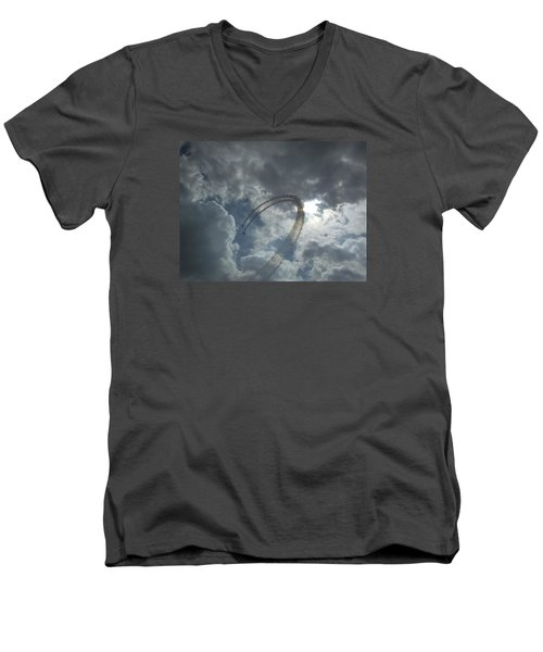 Aerial Display Men's V-Neck T-Shirt