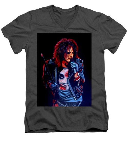Alice Cooper  Men's V-Neck T-Shirt