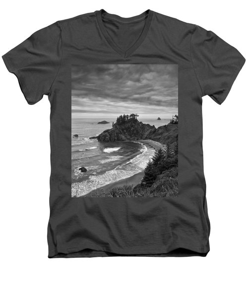 Approaching Storm Men's V-Neck T-Shirt by Andrew Soundarajan
