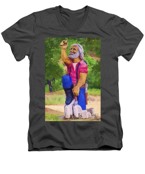 Coarsegold Miner Men's V-Neck T-Shirt