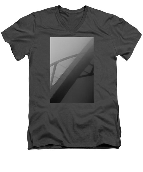 Men's V-Neck T-Shirt featuring the photograph D. Hoan by Michael Nowotny