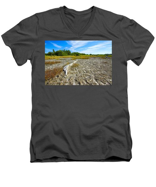 Everglades Coastal Prairies Men's V-Neck T-Shirt