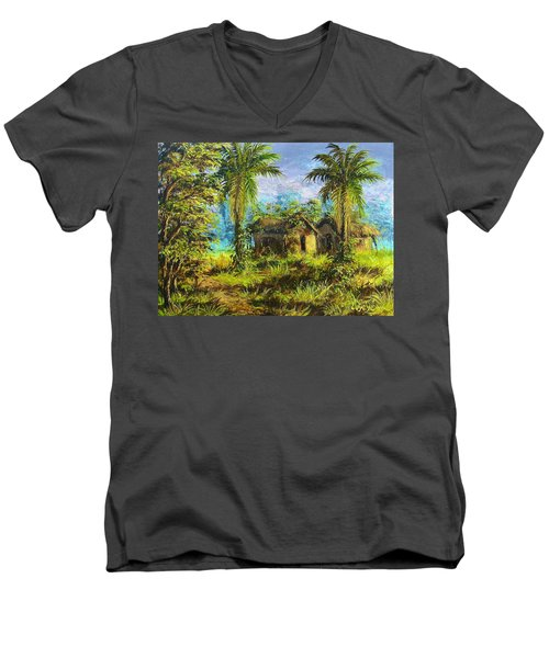 Forest House Men's V-Neck T-Shirt