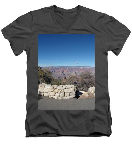 Men's V-Neck T-Shirt featuring the photograph Grand Canyon by David S Reynolds