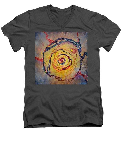 Growth Pattern Men's V-Neck T-Shirt