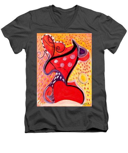 Heart And Soul Men's V-Neck T-Shirt