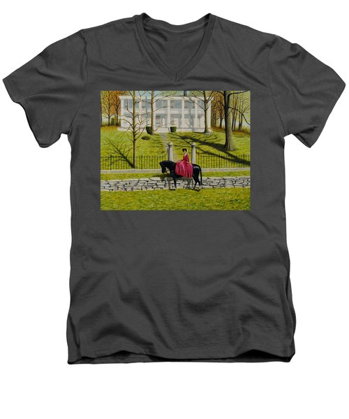 Her Favorite Horse Men's V-Neck T-Shirt