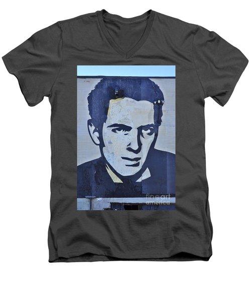 Joe Strummer Men's V-Neck T-Shirt
