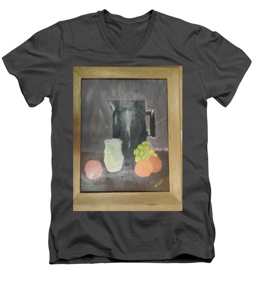 #2 Men's V-Neck T-Shirt