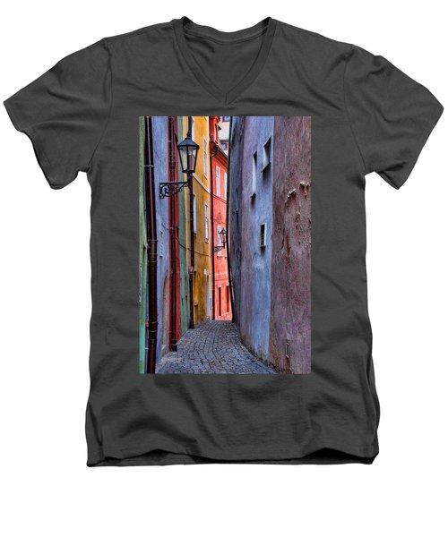 Medieval Alley Men's V-Neck T-Shirt