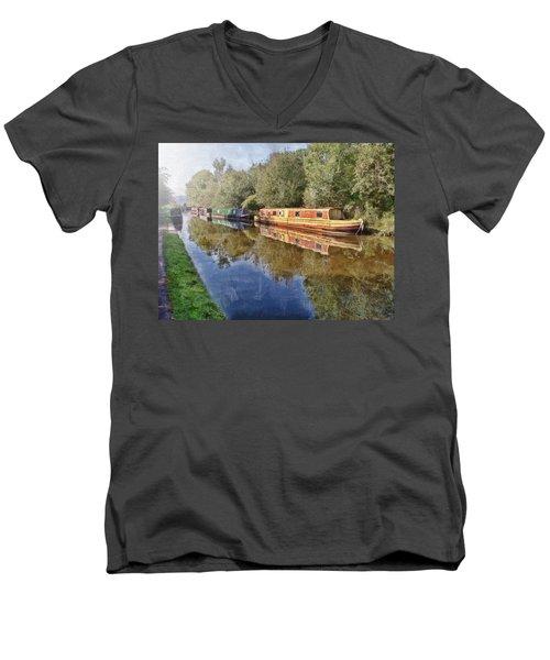 Moored Up Men's V-Neck T-Shirt
