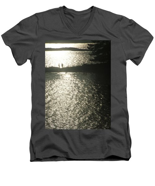 2 At The Beach Men's V-Neck T-Shirt