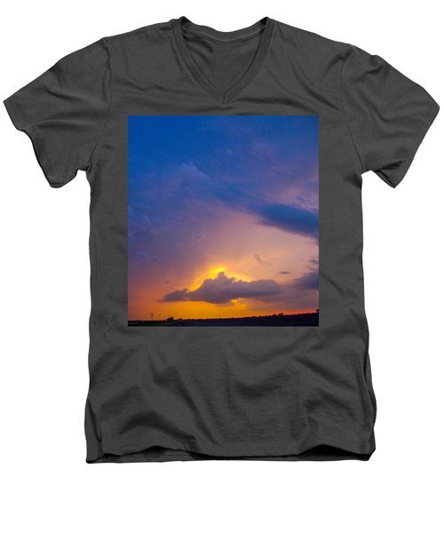 Our First Kewl T-boomers 2010 Men's V-Neck T-Shirt