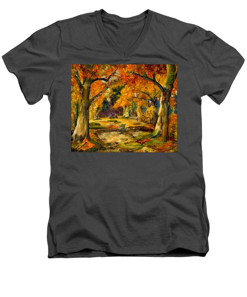 Our Place In The Woods Men's V-Neck T-Shirt