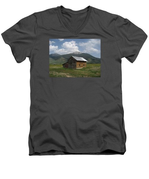 Paradise Valley Montana Men's V-Neck T-Shirt