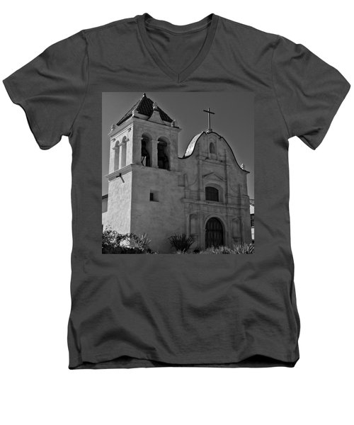 San Carlos Cathedral Men's V-Neck T-Shirt
